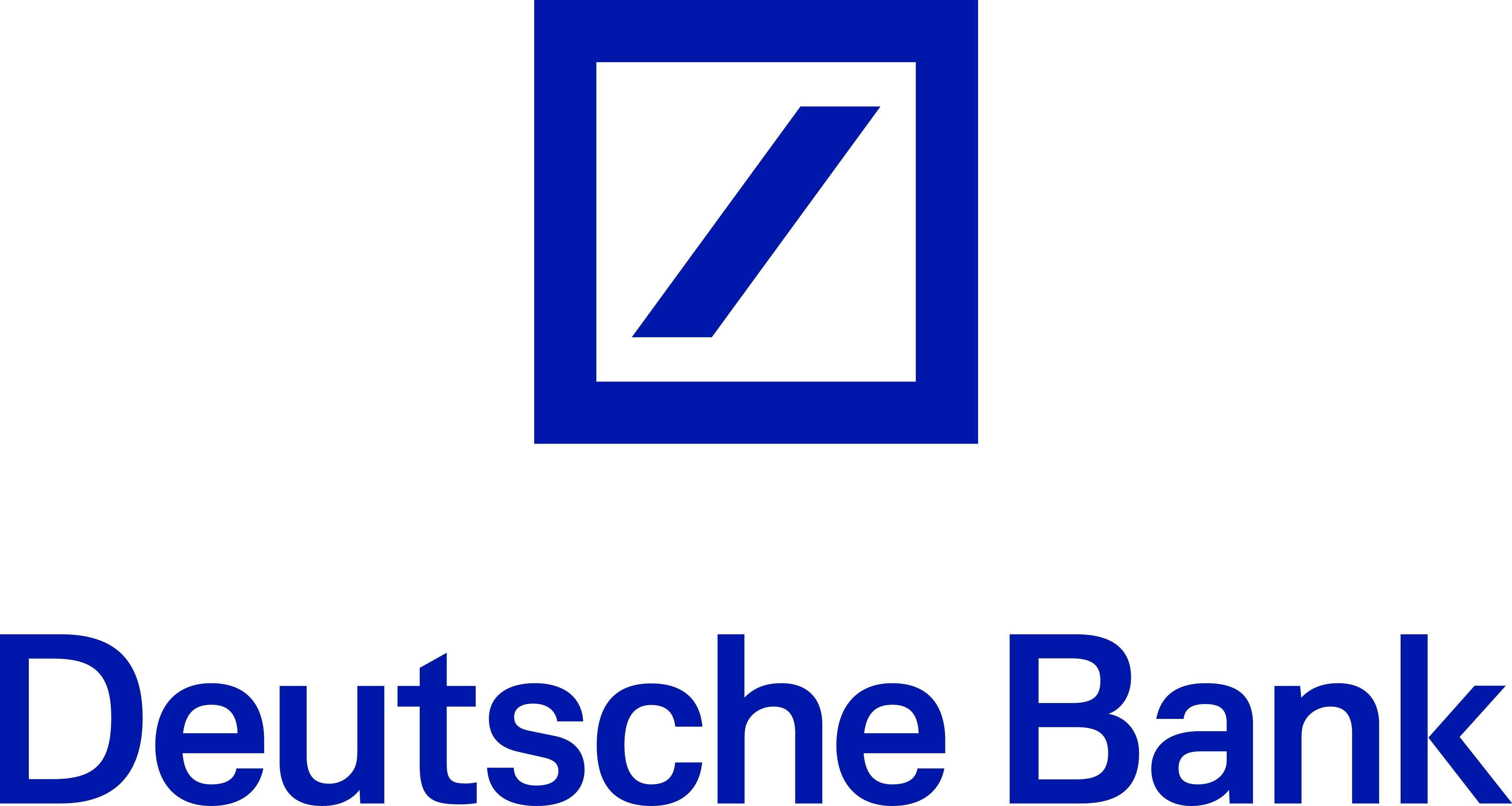 Bildergebnis für deutsche bank logo
